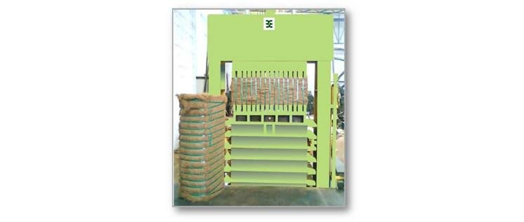 coir fiber baling machine